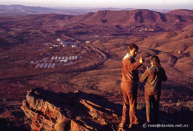Mt Tom Price from Mt Nameless Australia