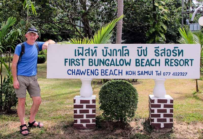 Ross at Chaweng Beach