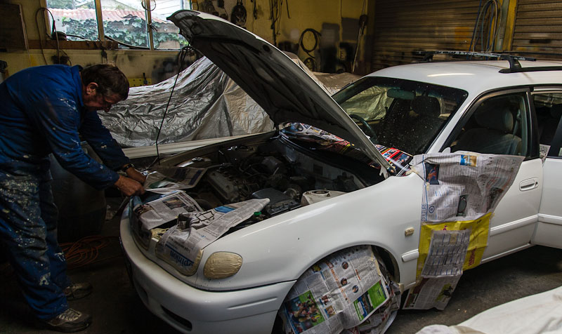 Touching Up The Toyota
