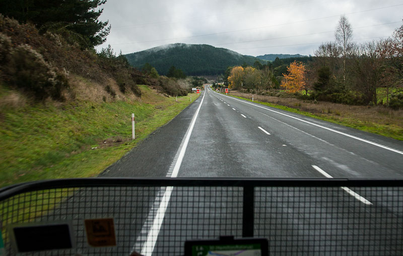 Cabcam - SHI north of Taupo
