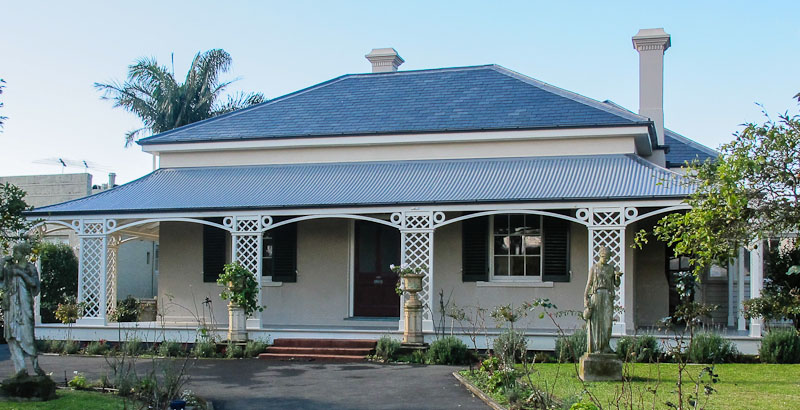 Early Parnell House Auckland
