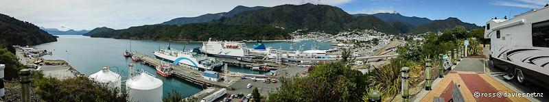 Picton interisland ferry teminal