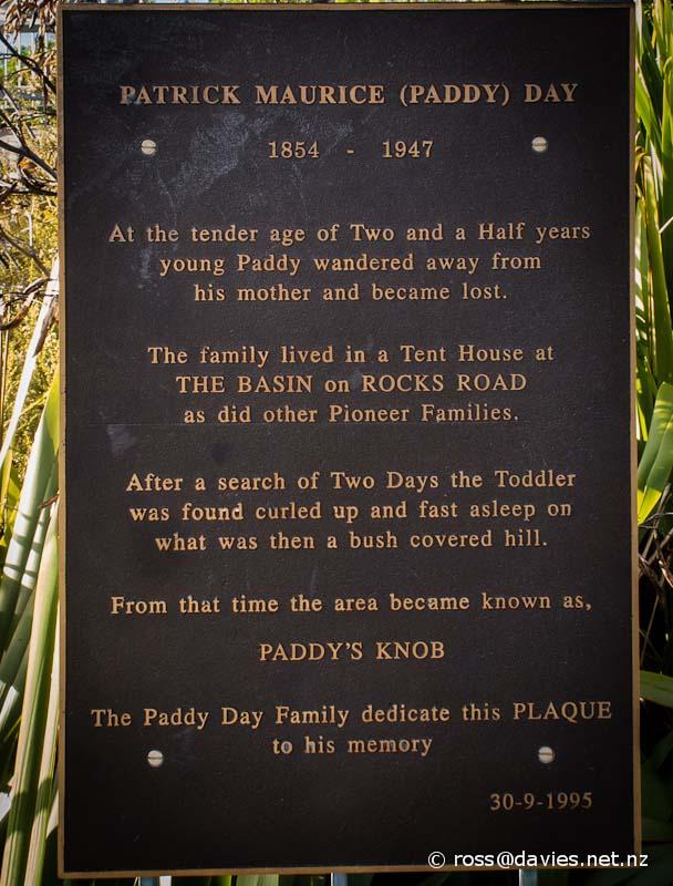 Paddy's Knob, Tahunanui, Nelson