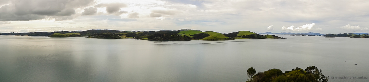 Panorama from Akeake/Tareha Point lookout