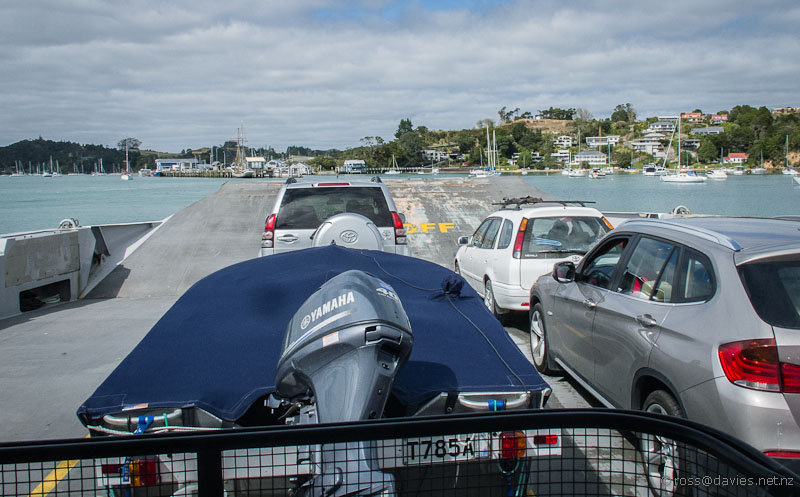 Opua ferry Bay of Islands