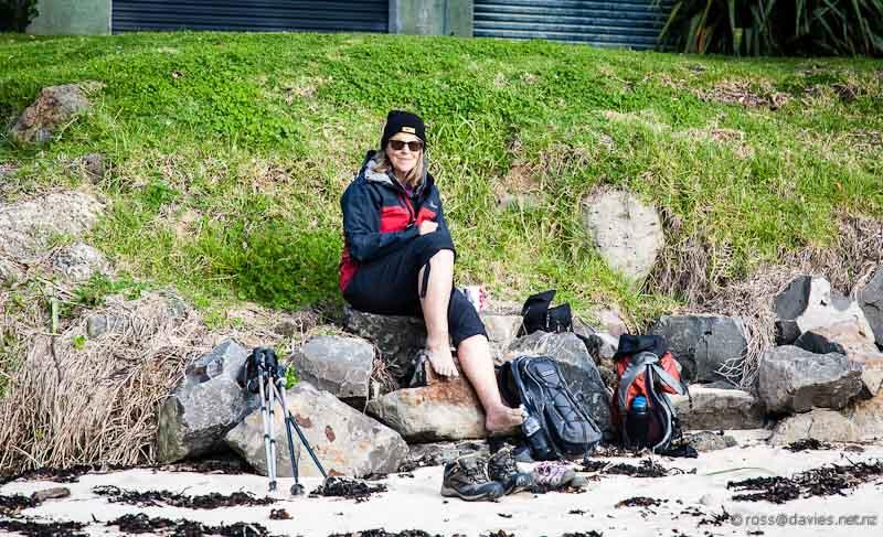 Picnic at Tapuaetahi Beach