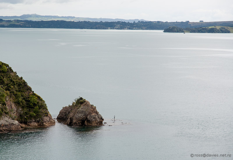 Someones favourite fishing spot near Akeake/Tareha Point lookout