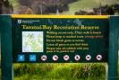 Taronui Bay access signage