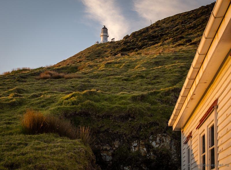Cape Brett lighthouse from the hut