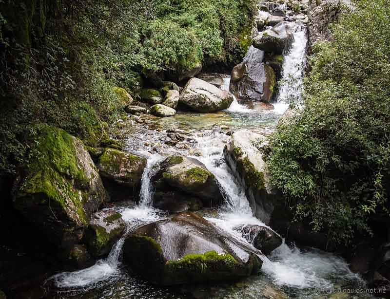 Stream, Mt Cangshan Dali