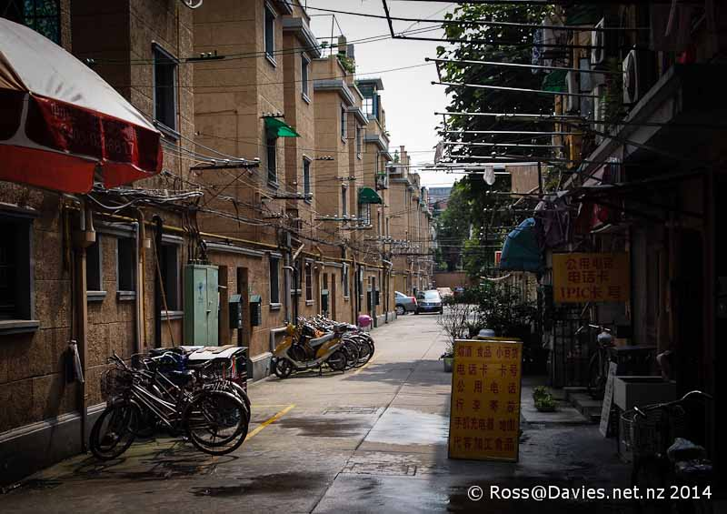 Alleyway Shanghai city
