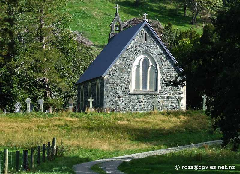 Church of the Holy Innocents, Mt Peel Station
