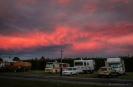 Sunset over Mosgiel