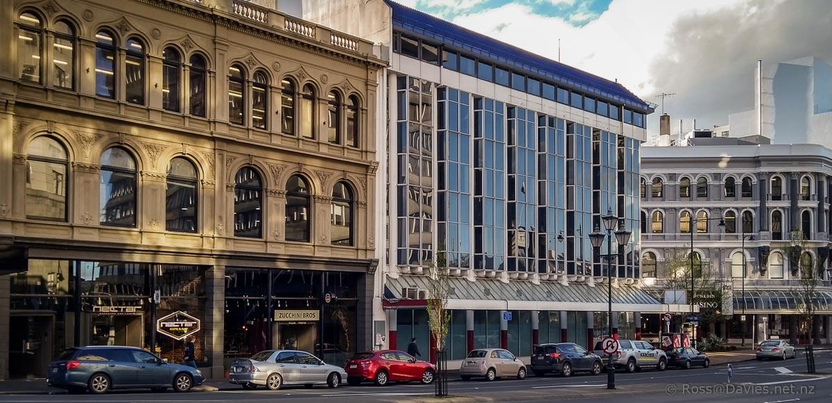 Former Cook Allan Gibson offices in Princes Street Dunedin