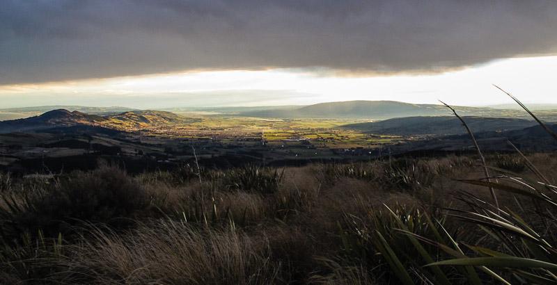 Taieri Plains from Flagstaff