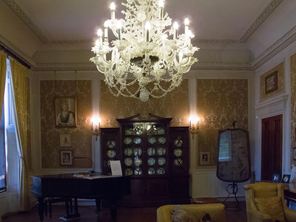 Chandelier Trelissick House