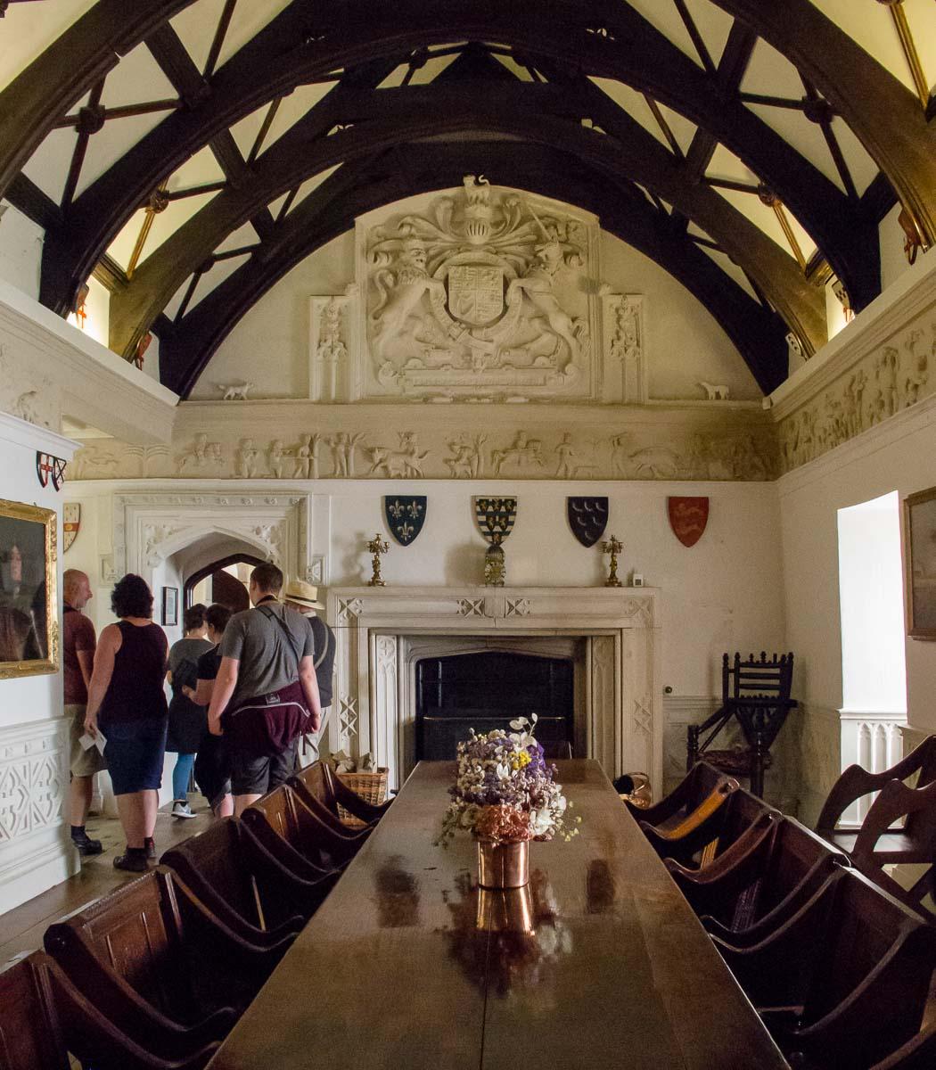 Castle interior St Michael's Mount