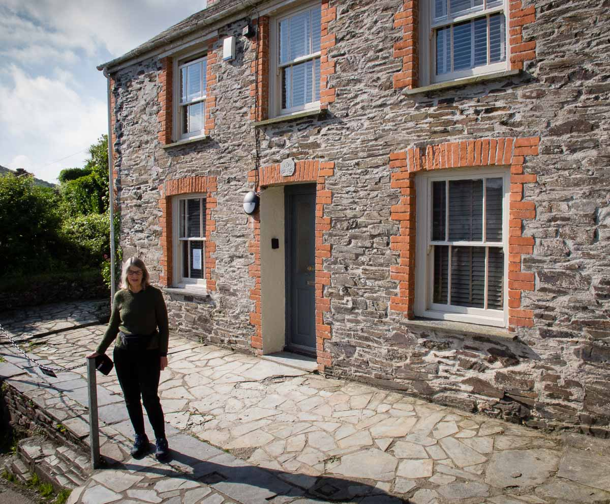 Location for Doc Martin's house
