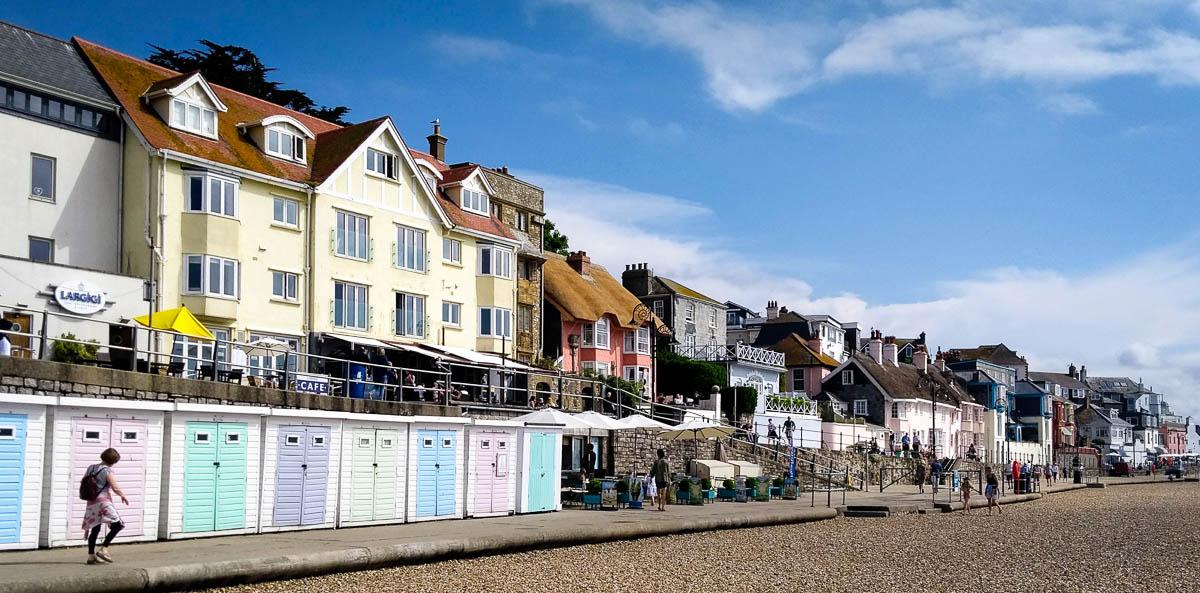 Beachfront Lyme Regis
