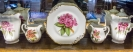 Spode china with Trelissick flowers