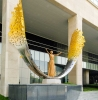 Entrance to the Golden Tulip Hotel