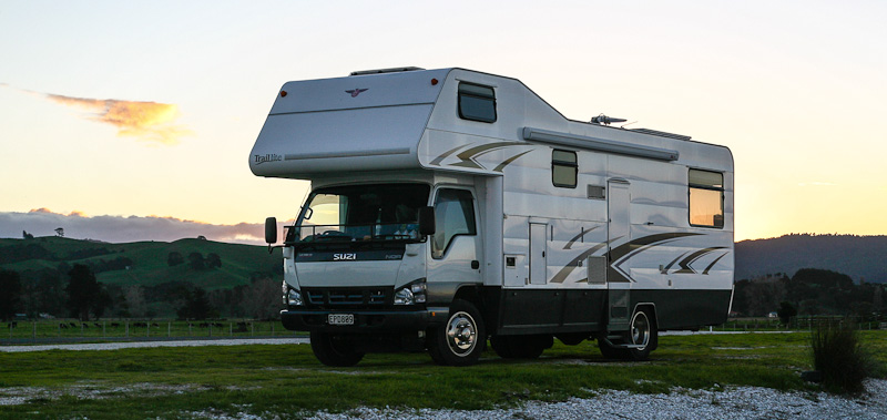 Return to ray s rest reserve and kaiaua motor home for Miranda motors used trucks