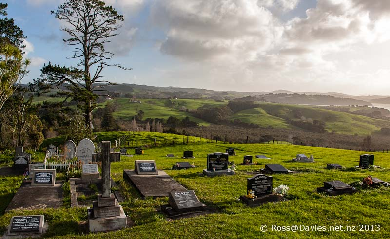Minniesdale Chapel and Cemetery near Kaipara Harbour