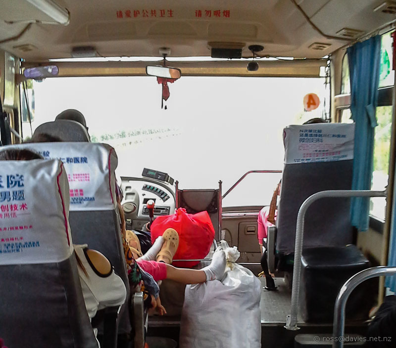 Bus Jianchuan to Lijiang