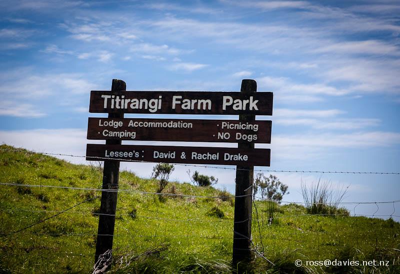 Sign Titirangi Bay Marlborough Sounds