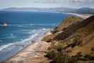 Mangawhai Heads beach from Mangawhai Cliff Top Walkway