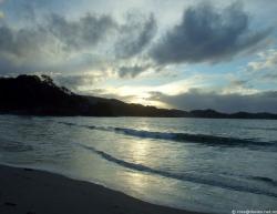 Otamure beach sunset