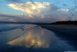 Uretiti beach dawn