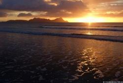 Uretiti beach sunrise 3