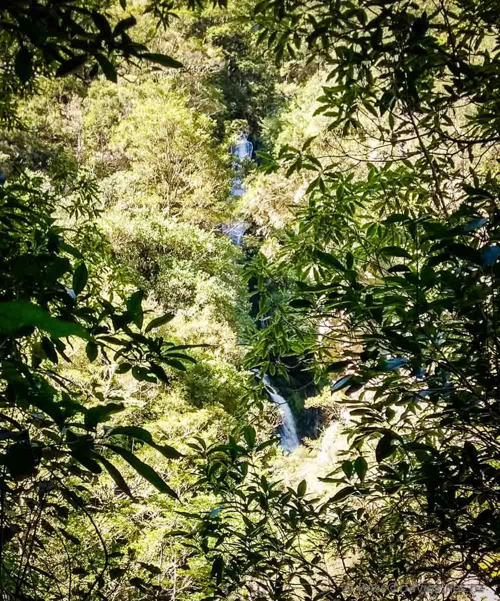 Crystal Falls Waipori Gorge