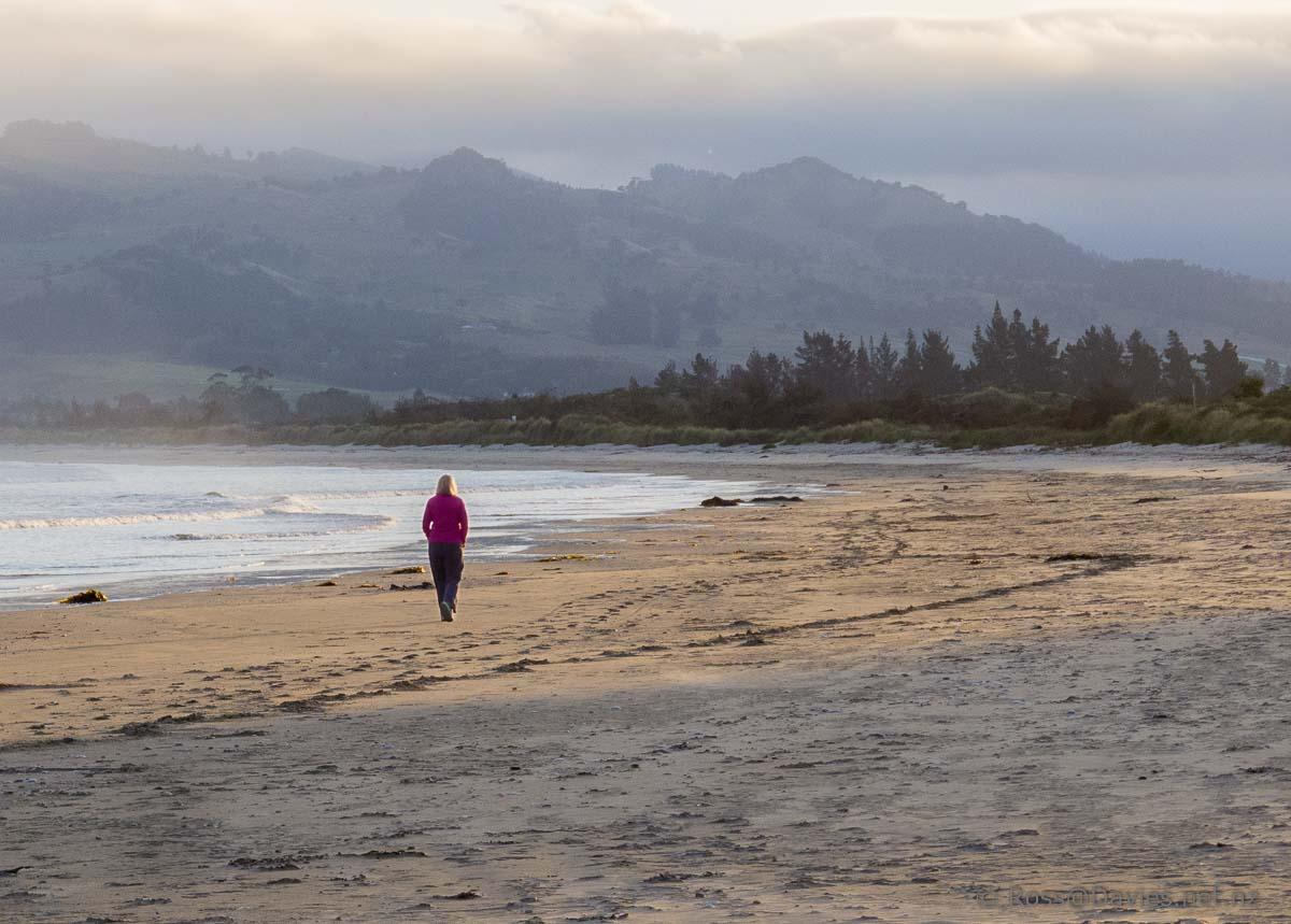 Waikouaiti Beach towards Karitane