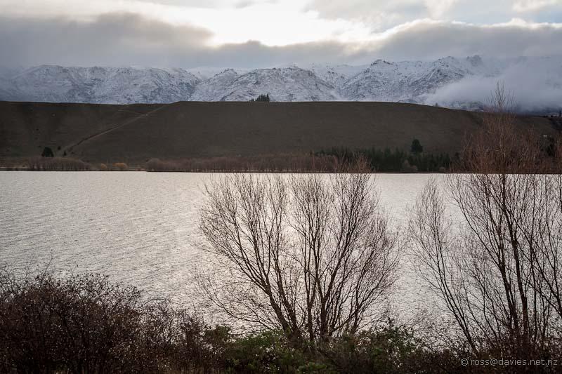 Lake Dunstan and Pisa Range