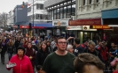 Anti-TPPA march George Street Dunedin