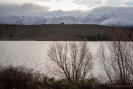 Lake Dunstan and Pisa Range
