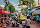 Soi Rambuttri, Bangkok, Thailand