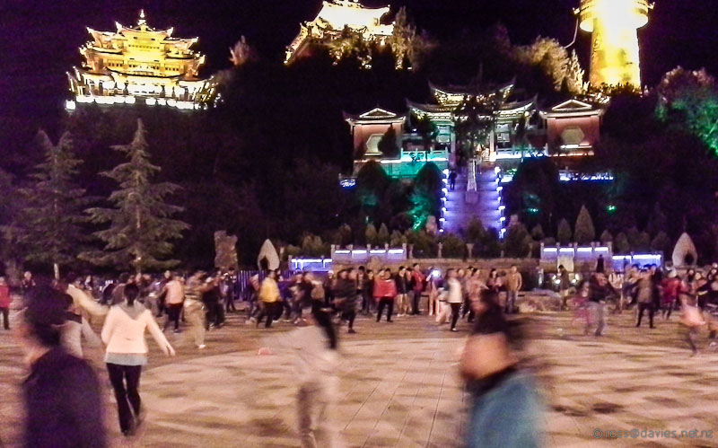 Dancing in the Square Shangrila