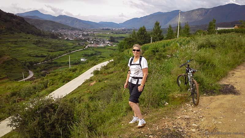 Biking back to Shaxi