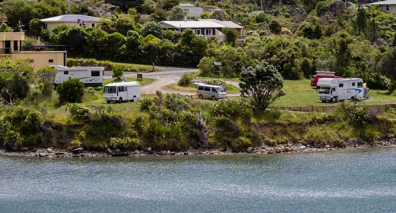 Elaine Bay DoC Camp