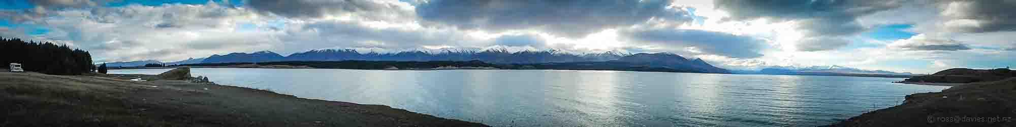 Panorama Lake Pukaki