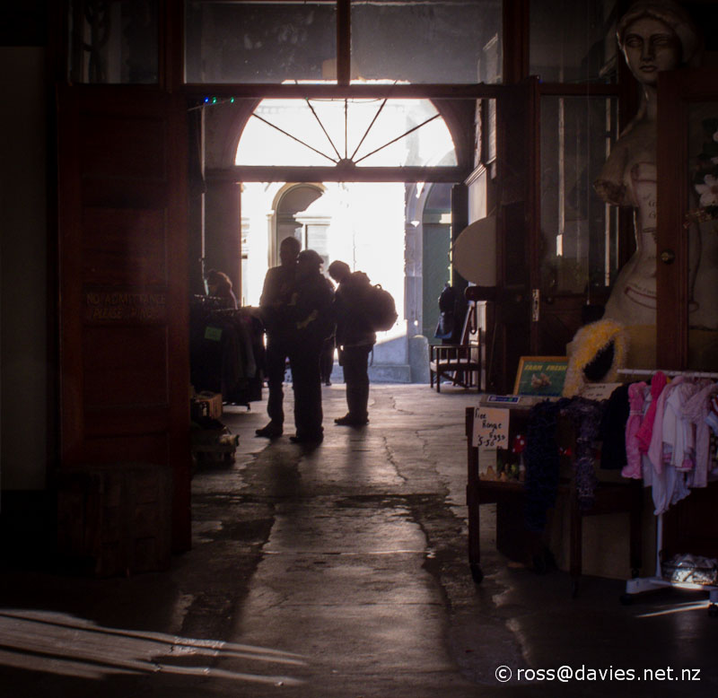 Oamaru shop/gallery - Tyne Street