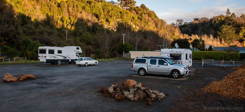 NZMCA park at Woodhaugh