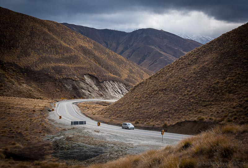 Lindis Pass looking south