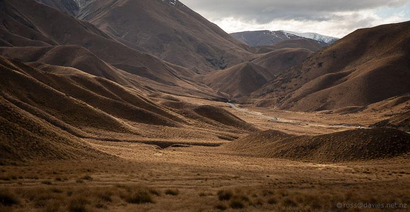 Lindis Pass looking north