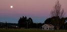 Sunset at A & P Showgrounds Mosgiel