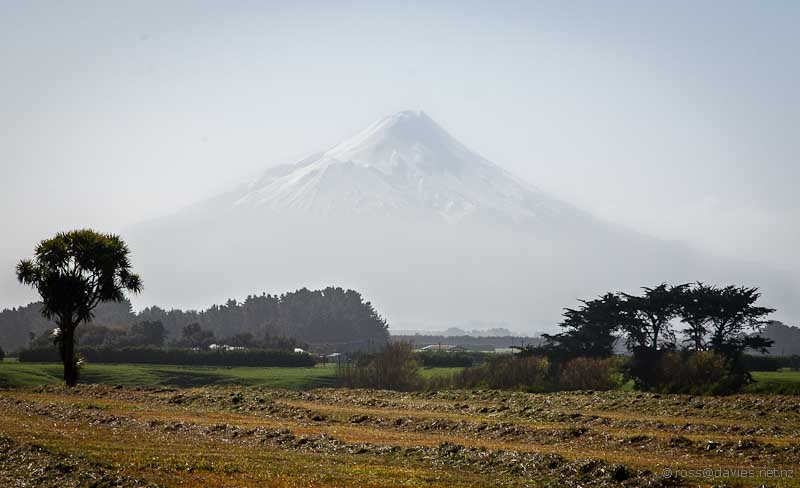 Mt Taranaki from Tawhiti