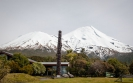 Mt Taranaki from Dawson Falls Visitor Centre